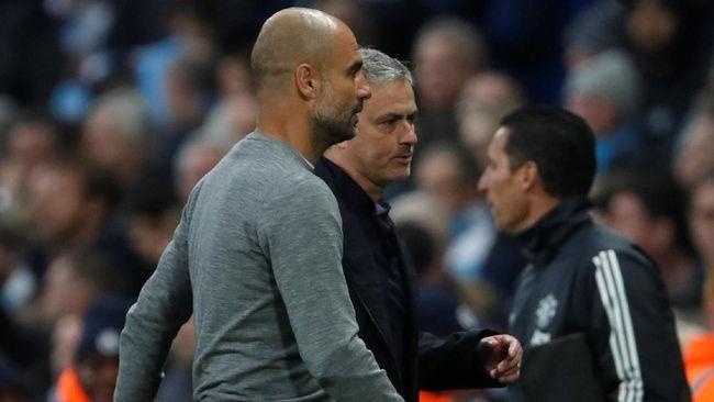 Jose Mourinho mengaku tidak merasakan sakit karena gelar Pep Guardiola lebih banyak dari dirinya namun Mourinho tetap mengeluarkan pembelaan.
