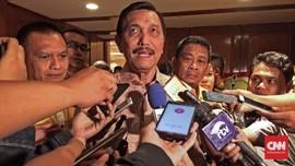 Luhut Puji Prabowo soal Indonesia Bubar di Hadapan Kader PDIP