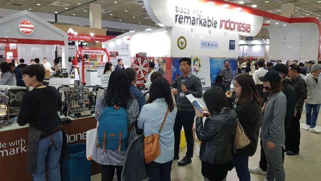 Beragam kopi Indonesia menarik minat para pengusaha warga Korea Selatan.
