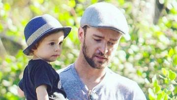 Kumpulan Foto Justin Timberlake si Ayah Kece Bersama Anaknya