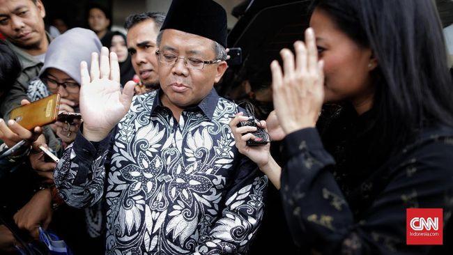 Presiden PKS Sohibul Iman enggan berkomentar soal dua nama cawagub DKI Jakarta yang telah diumumkan Partai Gerindra.