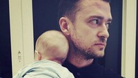 <p>Throwback saat Silas Randall Timberlake masih imut. (Foto: Instagram @justin.timberlake.king)</p>