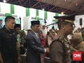 Bersarung Hijau, Jokowi Hadiri Penutupan Munas Alim Ulama PPP