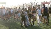 Festival musik Coachella telah memulai akhir pekan pertamanya pada 13-15 April lalu dengan Beyonce sukses menjadi sensasi perayaan musik itu tahun ini.
