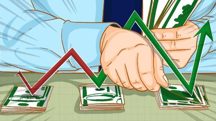 Pembukaan Pasar: Rupiah Stagnan di Rp 13.950/US$