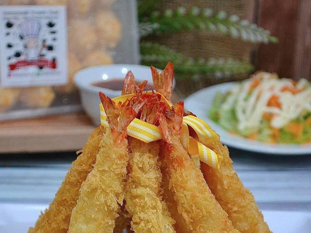 Kriuk Renyah Ebi Tempura, Pilihan Netizen untuk Makan Siang Enak
