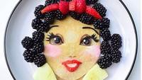 <p>Kalau tampilannya gini, anak-anak dijamin mau deh makan buah. Lihat deh, Snow White-nya cantik banget kan, Bun? (Foto: Instagram/ @jacobs_food_diaries) </p>