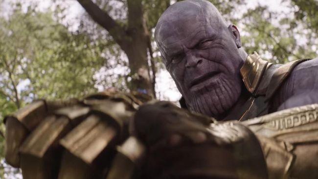 Thanos, musuh Avengers dan semua para pahlawan super Marvel akan dibuatkan novel berjudul 'Thanos--Titan Consumed.'