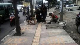 Penulis Lafaz Allah di Trotoar Bandung Idap Gangguan Jiwa