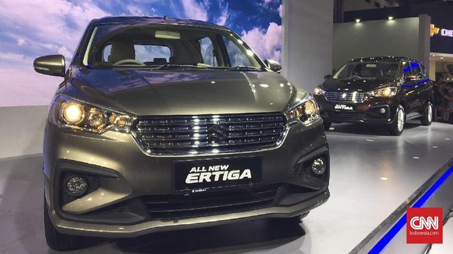 Suzuki meluncurkan All New Ertiga pada perhelatan IIMS 2018. Berdasarkan penelusuran CNNIndonesia.com, harga baru Ertiga dibanderol hingga Rp253 juta.
