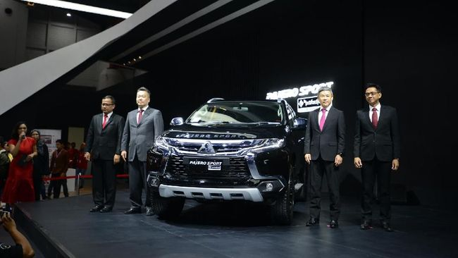 Mitsubishi mencatat telah menjual 900 unit kendaraan selama perhelatan IIMS 2018.