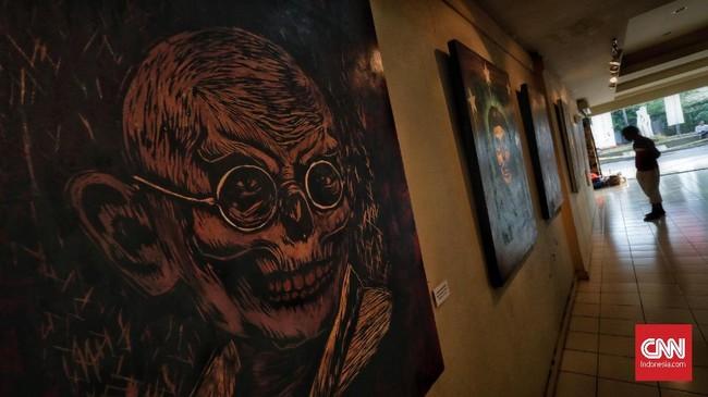 Pameran visual bertajuk 'Pang! No Border, No Class' diselenggarakan di Galeri Cipta 3, TIM, Jakarta Pusat hingga 30 April 2018.