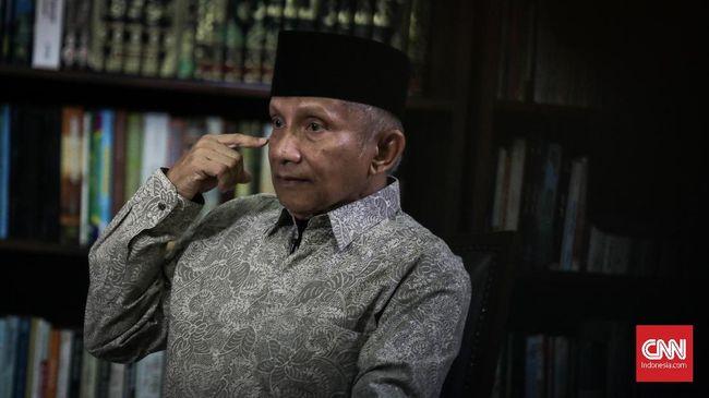 Amien Rais menegaskan jika Jusuf Kalla tidak mungkin lagi mencalonkan diri baik sebagai wakil presiden sebagaimana putusan MK ataupun calon presiden.