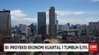 BI: Proyeksi Ekonomi Kuartal 1 Tumbuh 5,11%