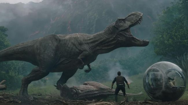 Cuplikan film Jurassic World (2018). Dok. Universal Studios