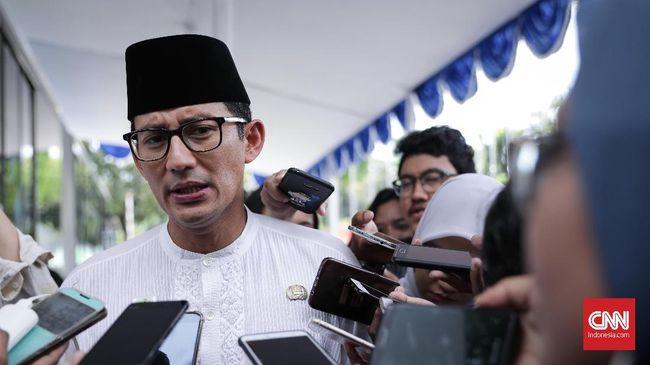 Wagub DKI Jakarta Sandiaga Uno menyatakan penunjukkan Sarman Simanjorang adalah hak prerogatif karena Pemprov punya porsi saham terbesar di PT Delta.