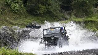 Jeep Lava Tour Merapi Masih Beroperasi, Ada Revisi Rute