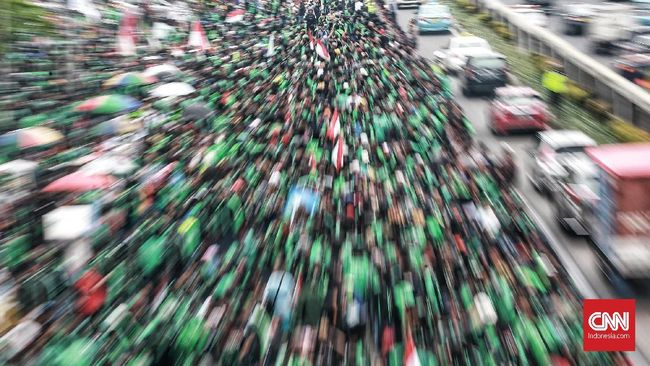 Massa Ojek Online di Indonesia Ancam Kepung Kedubes Malaysia