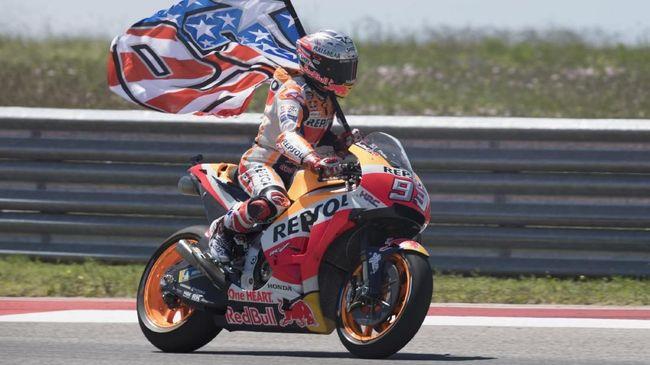 Live streaming MotoGP Amerika Serikat 2019 dari Sirkuit Americas, Austin, Senin (14/4) dini hari WIB, bisa disaksikan melalui CNNIndonesia.com.