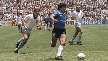 3 Gol Terbaik Maradona di Piala Dunia