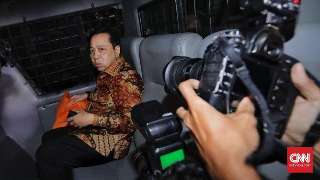 Hakim Tolak Buka Blokir Rekening Setnov