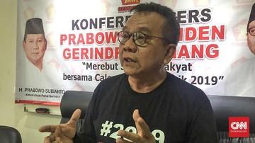 Taufik soal Wagub DKI: Kami Ikhlas Enggak Kejar Jabatan