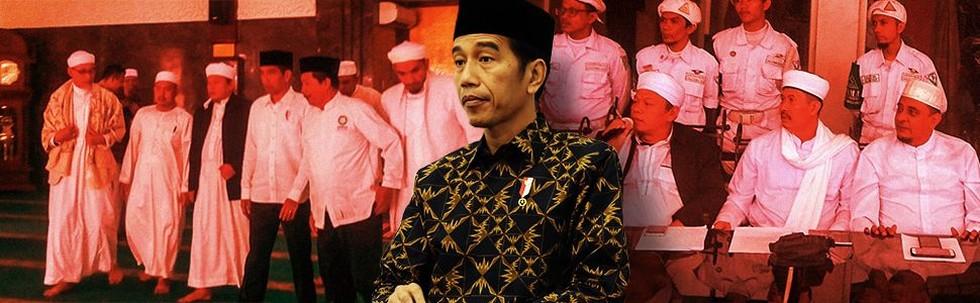 Pertemuan Jokowi dan Alumni 212
