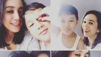 <p>Dimitri mirip sama Bunda Mira nggak, Bun? (Foto: Instagram/ @mira_asmara) </p>