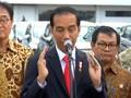 Lepas Kapal Ekspor, Jokowi Optimis Ekspor RI Bisa Kompetitif