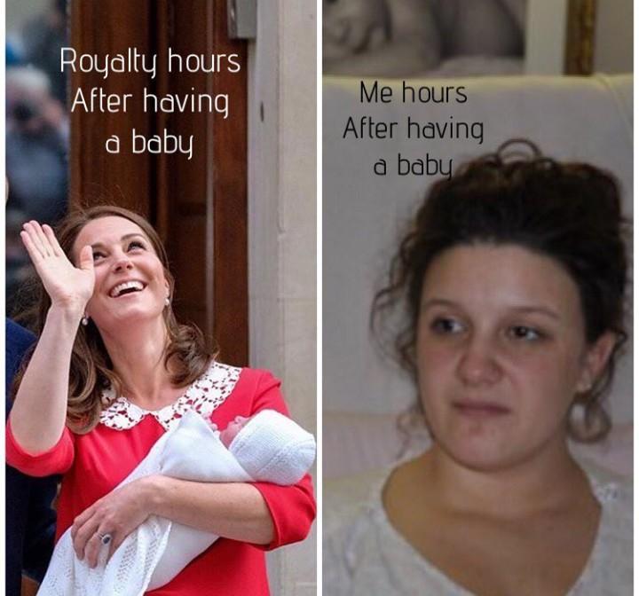 <p>Iri sih saat melihat Kate Middleton seceria dan secantik itu membawa bayinya yang baru 7 jam dilahirkan. Sementara kita masih dengan wajah lelah. Tenang, Bun, nggak perlu buru-buru. Istirahat dulu sejenak. (Foto: Instagram/ alliesibernagel)</p>