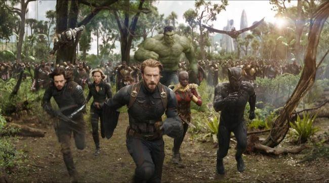 Kekuatan infinity stone membuat 'Avengers: Infinity War' jadi film dengan box office pembukaan terbesar dalam sejarah dunia, meraup Rp8,9 T secara global.