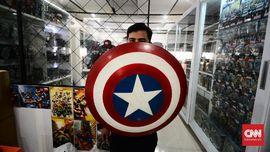 FOTO: Menengok 'Gudang' Marvel di Sudut Jalan Fatmawati