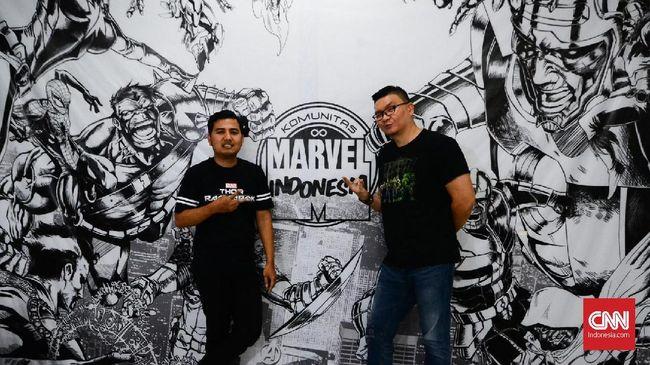 Komunitas Marvel Indonesia, grup pencinta Marvel yang berawal dari dunia maya, sudah dapat pengakuan dari Marvel Entertainment di Amerika.