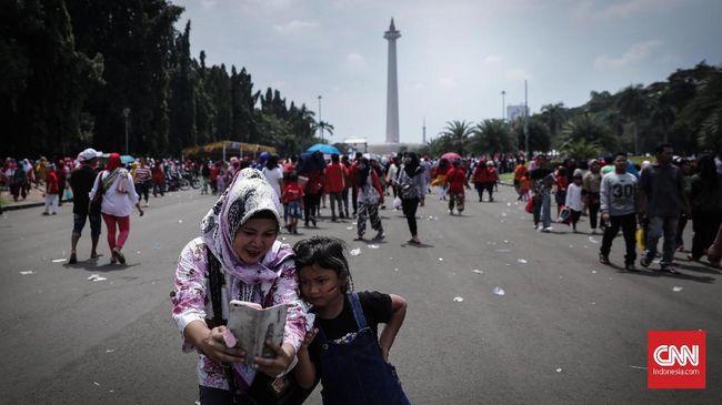 Pantulan sejumlah benda akan 'hilang' di hari tanpa bayangan di area Jakarta dan Serang pukul 11.40 WIB selama 10 menit.