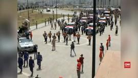 VIDEO: Pemakaman Massal Korban Tewas Houthi, Yaman