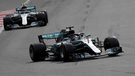 Hasil F1 GP Inggris: Hamilton Finis Terdepan