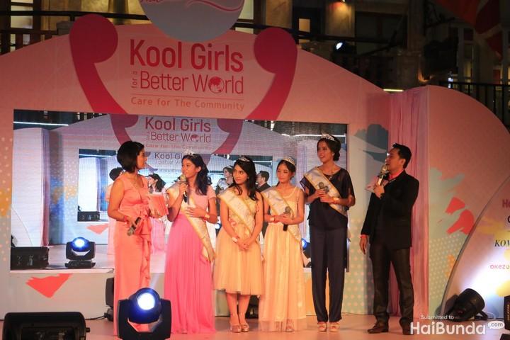 Yuk, intip keseruan ketika anak-anak perempuan ikutan ajang pemilihan putri kecantikan.