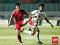 Timnas Indonesia vs Korea Utara Berakhir Imbang
