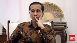 Jokowi Mendadak Tinjau Gudang Bulog Cek Ketersediaan Pangan