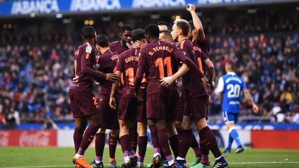Barcelona Juara Liga Spanyol