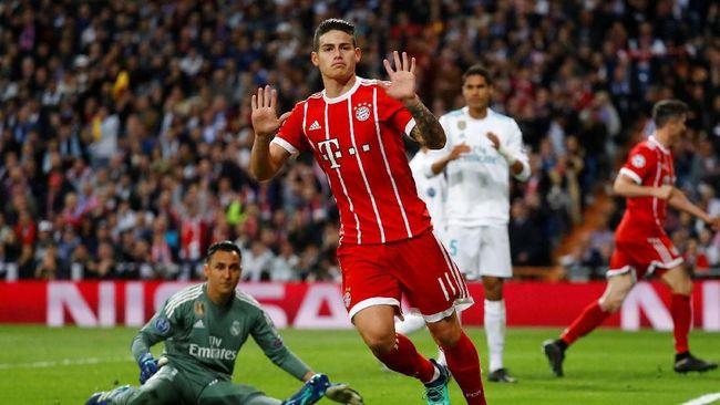 Gelandang pengatur serangan timnas Kolombia, James Rodriguez, diklaim berpeluang menggantikan posisi Mesut Oezil di Arsenal.