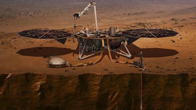 NASA akan mengirim misi khusus untuk menjelajah perut Mars untuk meneliti kandungan mineral.