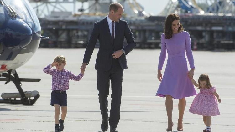 Pangeran George dan Putri Charlotte punya sederet hobi. Apa saja ya hobi keduanya?