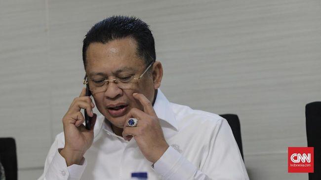 Ketua DPR Bambang Soesatyo ikut mendatangi lokasi rekonstruksi kasus peluru nyasar ke Gedung DPR di Lapangan Tembak Senayan.