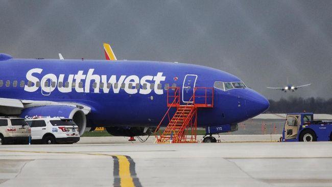 Southwest Airlines memperingatkan 6.800 karyawan terkait potensi PHK pada awal 2021 mendatang.