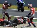 Rossi Ikut Salahkan Lorenzo dan Pedrosa Usai MotoGP Spanyol