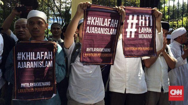Hakim PTUN menilai HTI telah menyusun konstitusi Khilafah yang bertentangan dengan sila ketiga Pancasila, Persatuan Indonesia.