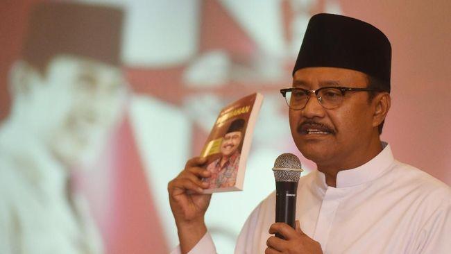 Saifullah Yusuf atau Gus Ipul bertekad membuat membuat Kota Pasuruan menjadi Kota Maju, Indah, Harmoni jika menang Pilkada 2020.