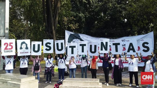 Singgung Jokowi Kasus Marsinah Dinilai Pelanggaran Ham
