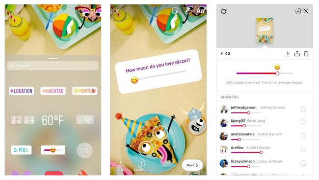 Instagram Punya Stiker Polling Baru Emoji Slider